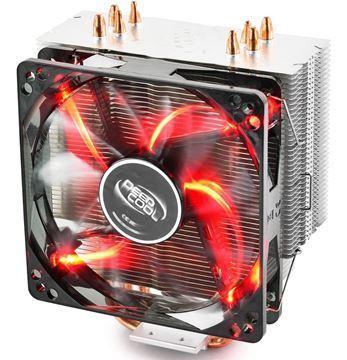 Imagen de Fan Deepcool GAMMAXX 400 V2 Led Rojo Intel Amd