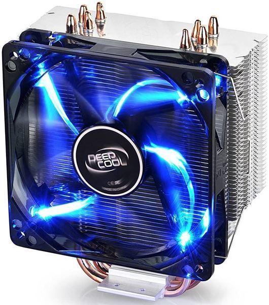 Imagen de Fan Deepcool GAMMAXX 400 V2 Led Azul Intel Amd