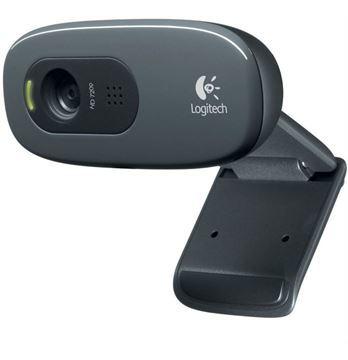 Imagen de Camara Web Logitech C270 Hd Microfono Pc Usb
