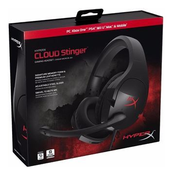 Imagen de Hyperx Cloud Stinger Ps4 PC Xbox One WII HX-HSCS-BK