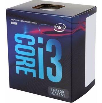 Imagen de Procesador Intel I3 8100 4 Core Micro Gamer 1151 Tranza