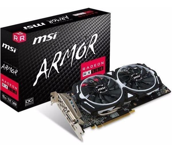 Imagen de MSI AMD Radeon RX 580 ARMOR 8GB OC GDDR5