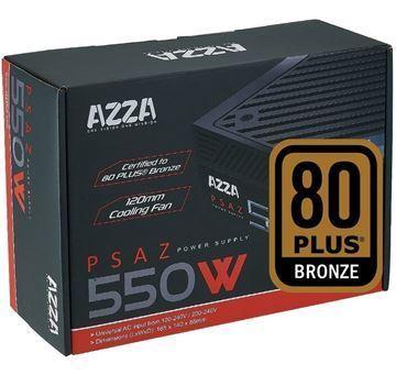 Imagen de AZZA 550w Reales Gamer 80 Plus Pci Express