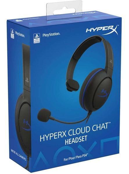 Imagen de Auricular Hyperx Cloud Chat Ps4 Licenciado HX-HSCCHS-BK/AM