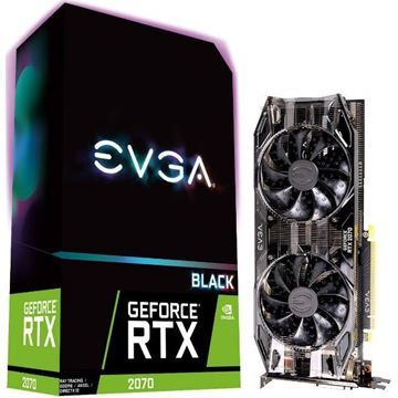 Imagen de Tarjeta Video Evga Geforce Rtx 2070 8gb Ddr6 Super Black Gaming
