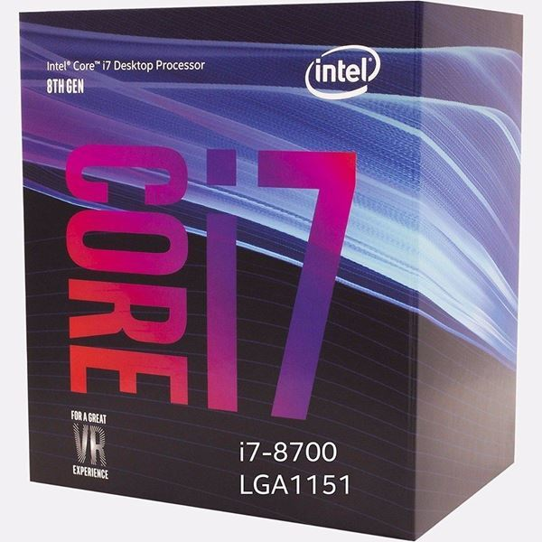 Imagen de Intel I7 8700 6 Core Micro Procesador Gamer 1151 Tranza