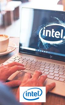 Logo de la marca Intel