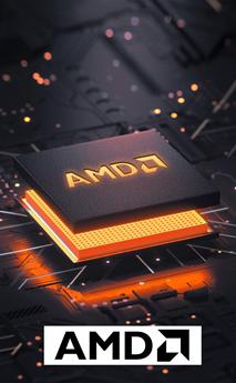 Logo de la marca AMD