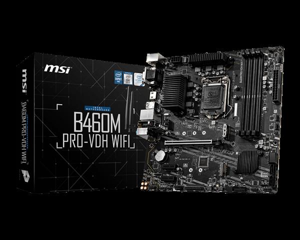 Imagen de MSI Intel B460M PRO-VDH WIFI 1200