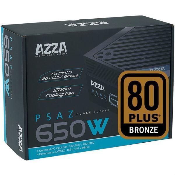 Imagen de AZZA 650w Reales Gamer 80 Plus Pci Express