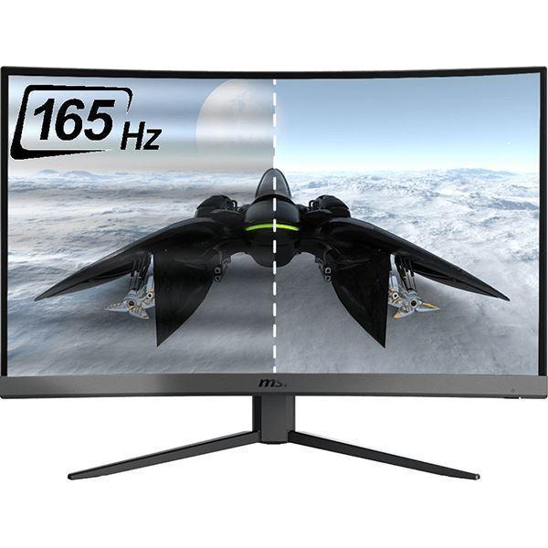 Imagen de Monitor MSI 27 Curvo serie G Optix G27C5 165hz Gamer