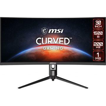 Imagen de Monitor MSI 30 WFHD Curvo Optix MAG301CR 200hz Gamer