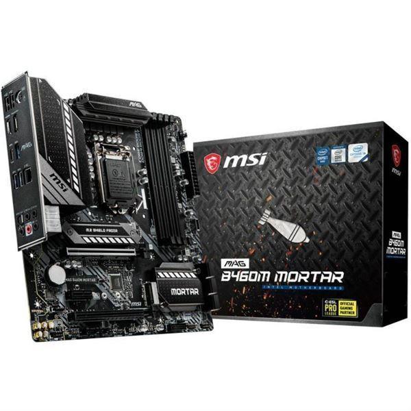 Imagen de Motherboard MSI Intel MAG B460M MORTAR 1200