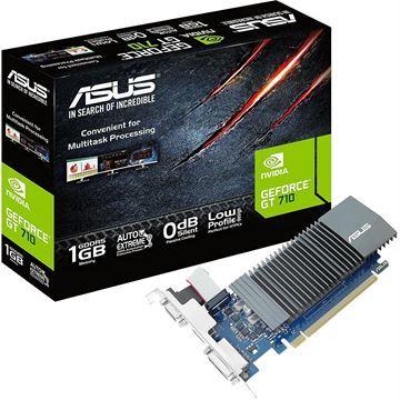 Imagen de Tarjeta De Video Asus Geforce Gt 710 1gb Ddr5 Vga Dvi Hdmi