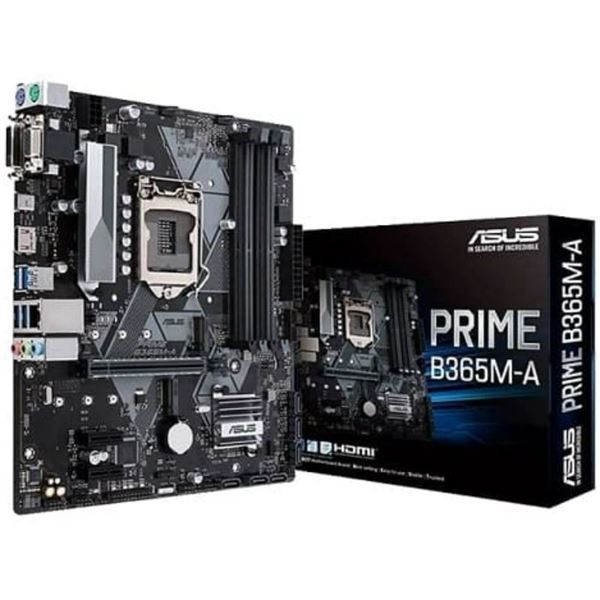 Imagen de Asus B365m-a Prime 9th Intel 1151