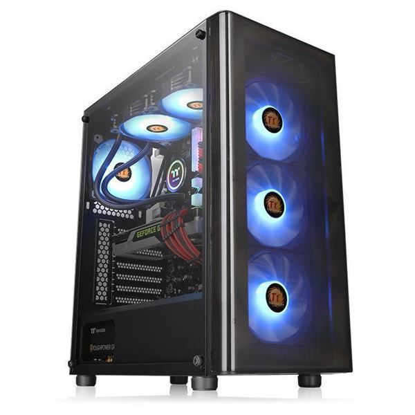 Imagen de Gabinete Gamer Thermaltake V200 TG RGB