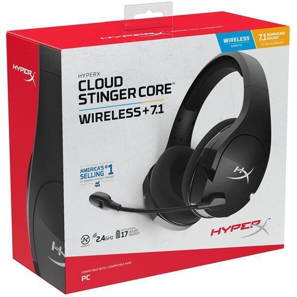 Imagen de Auricular Hyper Cloud Stinger Core 7.1 Wireless HHSS1C-BA-BK/G