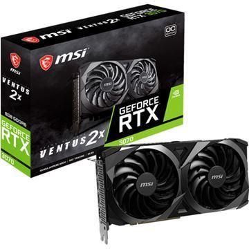 Imagen de MSI GeForce RTX 3070 VENTUS 2X OC 8GB GDDR6