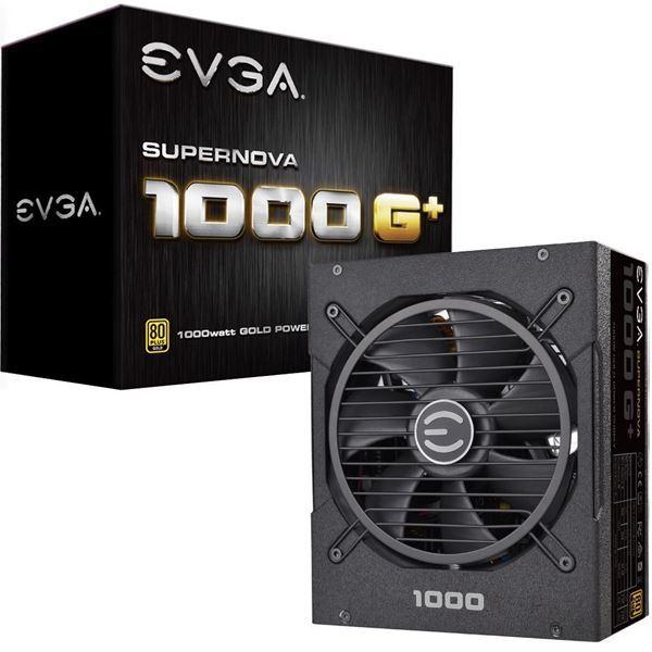 Imagen de Fuente EVGA 1000w Reales Gamer 80 Plus Gold Modular