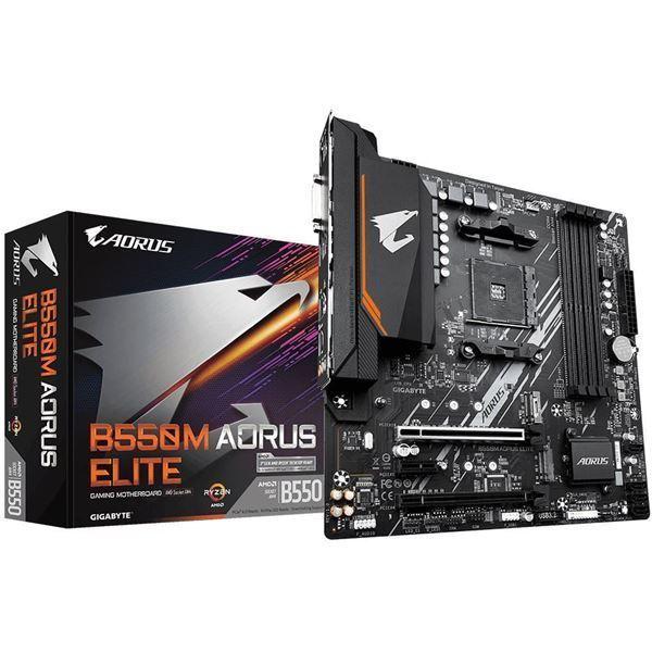 Imagen de Motherboard Gigabyte B550M AORUS ELITE AMD RYZEN 5000 AM4