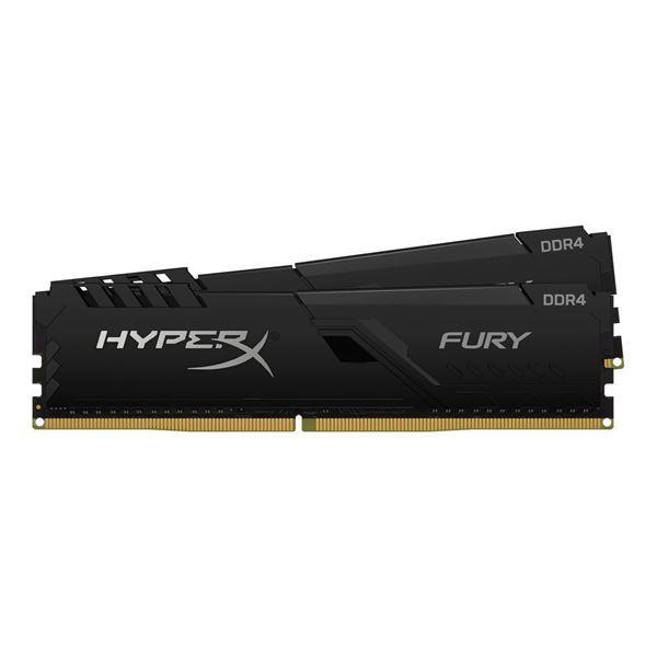 Imagen de Kingston Fury 8gb KIT 2x4 DDR4 3200 HX432C16FB3K2/8