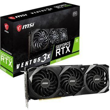 Imagen de MSI GeForce RTX 3080 VENTUS 3X 10G OC GDDR6X
