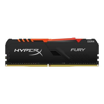 Imagen de Memoria HyperX Fury RGB 8gb DDR4 Gamer PC 3000 HX430C15FB3A/8