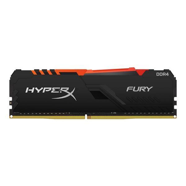 Imagen de Memoria HyperX Fury RGB 16gb DDR4 Gamer PC 2400 HX424C15FB3A/16