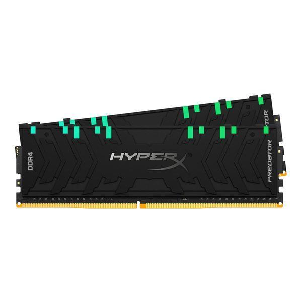 Imagen de Memoria Hyperx Predator RGB  16gb kit 2 DDR4 Gamer PC 4000 HX440C19PB3AK2/16