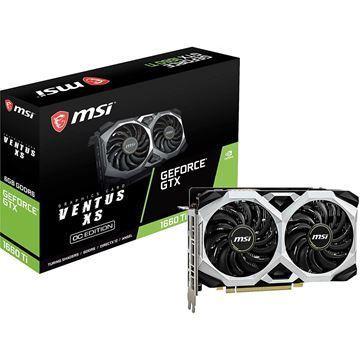 Imagen de MSI GeForce GTX 1660 Ti Ventus XS OC 6GB GDDR6