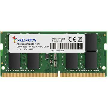 Imagen de Memoria RAM Adata 8gb Ddr4 Sodimm Notebook 2666