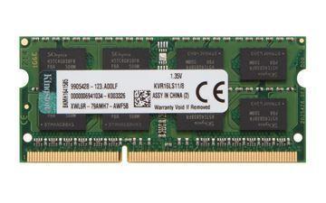 Imagen de Kingston 8GB DDR3L Sodimm Notebook 1600 KVR16LS11/8