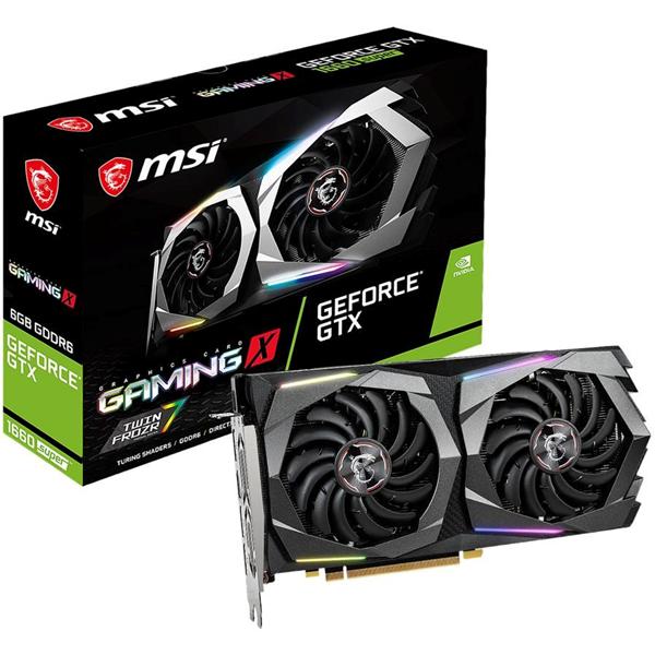 Imagen de MSI GeForce GTX 1660 SUPER GAMING X 6GB GDDR6