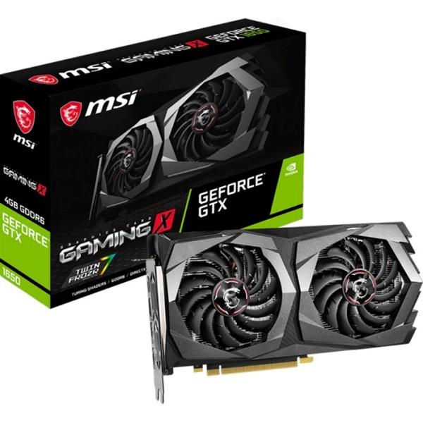 Imagen de MSI GeForce GTX 1650 D6 GAMING X 4GB GDDR6