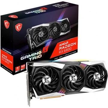 Imagen de MSI AMD Radeon RX 6800 GAMING X TRIO 16GB GDDR6