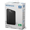 Imagen de Disco Duro Western Digital Externo 2Tb Usb 3.0 WDBU6Y0020BBK