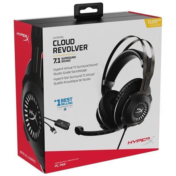 Imagen de Auricular HyperX Cloud Revolver 7.1 Gamer HHSR1-AH-GM/G