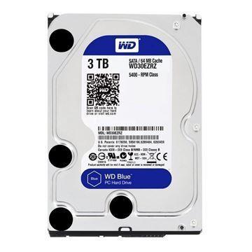 Imagen de Disco Duro Western 3TB Blue PC WD30EZRZ