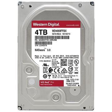 Imagen de Disco Duro Western 4TB Red Pro NAS WD4003FFBX