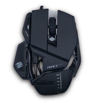 Imagen de Mouse Mad Catz R.A.T. 4+ MR03MCAMBL00