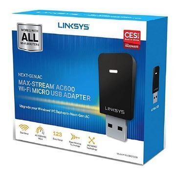 Imagen de Miniadaptador Usb Wifi Ac600 Max-stream Wusb6100m