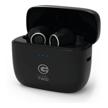 Imagen de Auricular Wireless Logic Tw10 Black