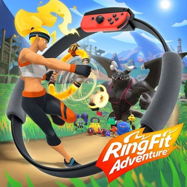 Imagen de Juego Nintendo Switch Ring Fit Adventure