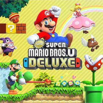 Imagen de Juego Nintendo Switch New Super Mario Bros U Delux