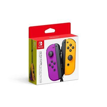 Imagen de Joystick Nintendo Switch L/r Neon Purple Orange