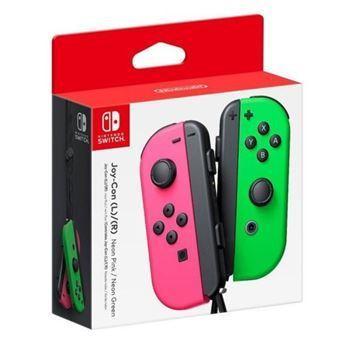 Imagen de Joystick Nintendo Switch L/r Rosa Y Verde