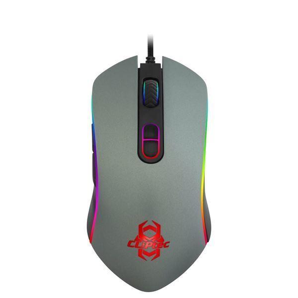 Imagen de Mouse Usb Cliptec 571 Gaming Rgb - Negro