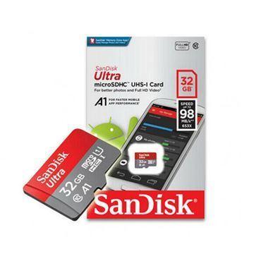 Imagen de Memoria Micro Sd Sandisk Uhs-i 32gb C10 C/adapt