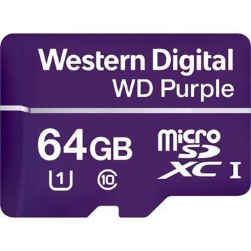 Imagen de Memoria Micro Sd Wd Purple Sdxc 64gb
