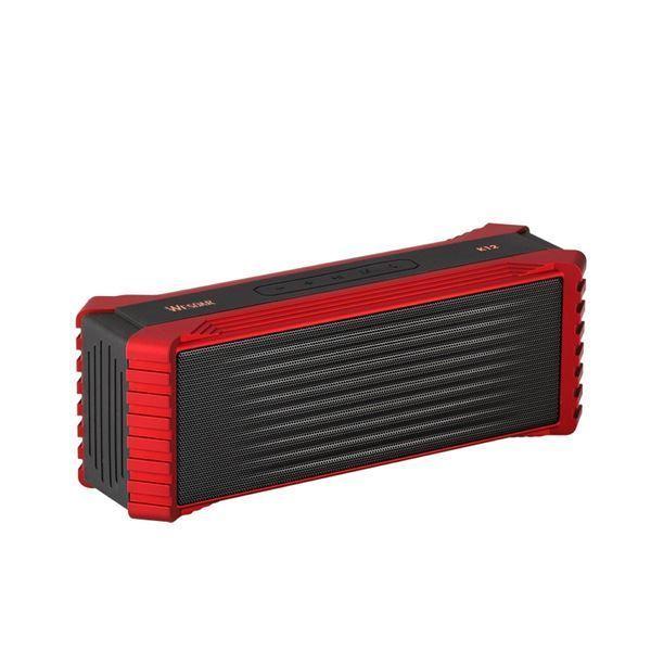 Imagen de Parlante Portable Wesdar K12 Red/black